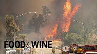 Guy Fieri Feeds Crews Fighting California Wildfires | Food News | Food & Wine