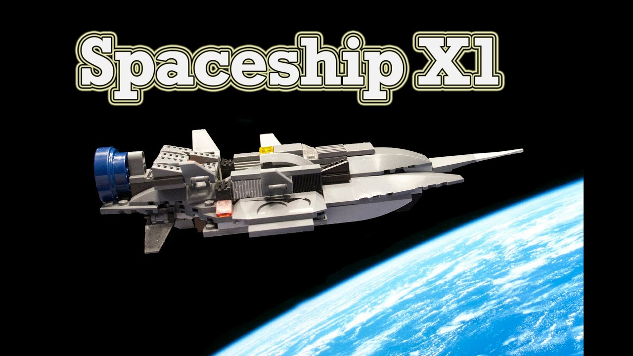 how to make lego spaceships instuction
