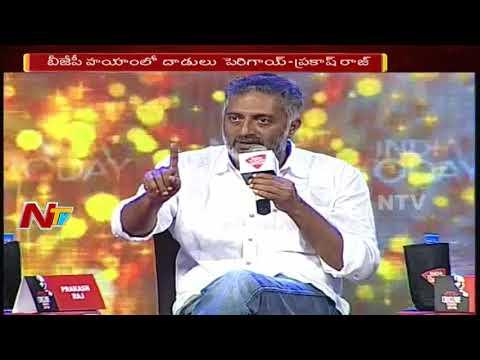 Prakash Raj & Vishal Slam BJP at India Today South Conclave || Hyderabad || NTV