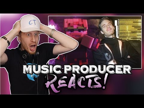 Music Producer Reacts To PewDiePie - Mine All Day