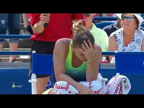 20150817,Toronto,Final,Bencic-Halep,76-67-30,(Simona Gives It Up)