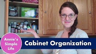 Kitchen Cabinet Organization (part 1)