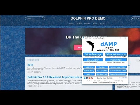 How to Install Boonex Dolphin on Windows in Minutes   2017
