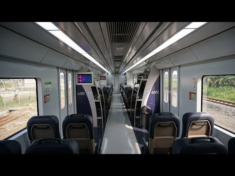 Railink Kualanamu Medan Sumatera Utara Indonesia 4k