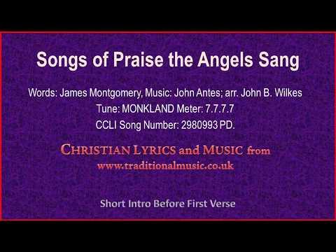 Songs Of Praise The Angels Sang(BH235) - Old Hymn Lyrics & Music