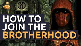 Skyrim Walkthrough - How to Join the Dark Brotherhood