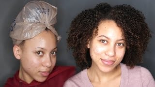 Natural Hair Routine | Peppermint Oil, Black Soap