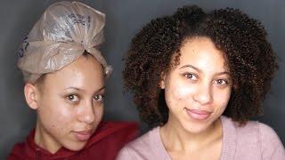 Natural Hair Routine   Peppermint Oil, Black Soap