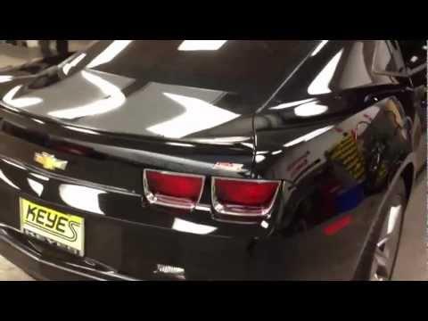 2012 Chevrolet Camaro Window Tint Installation KEYES Van Nuys, CA