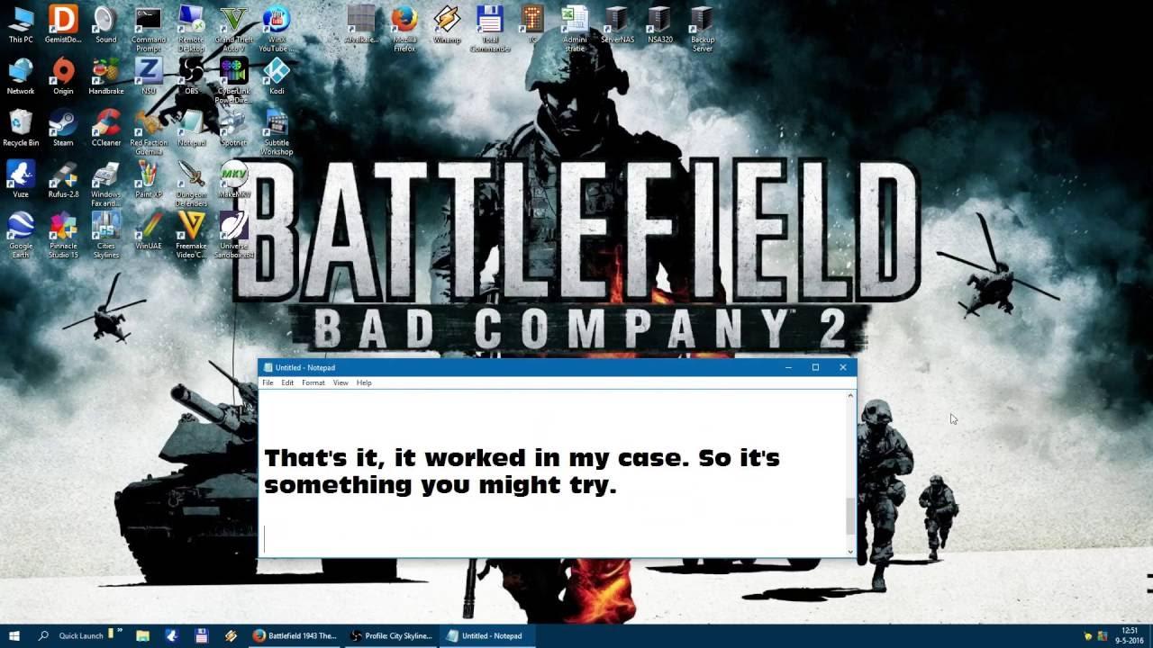 Battlefield 5 Not Launching Windows 10