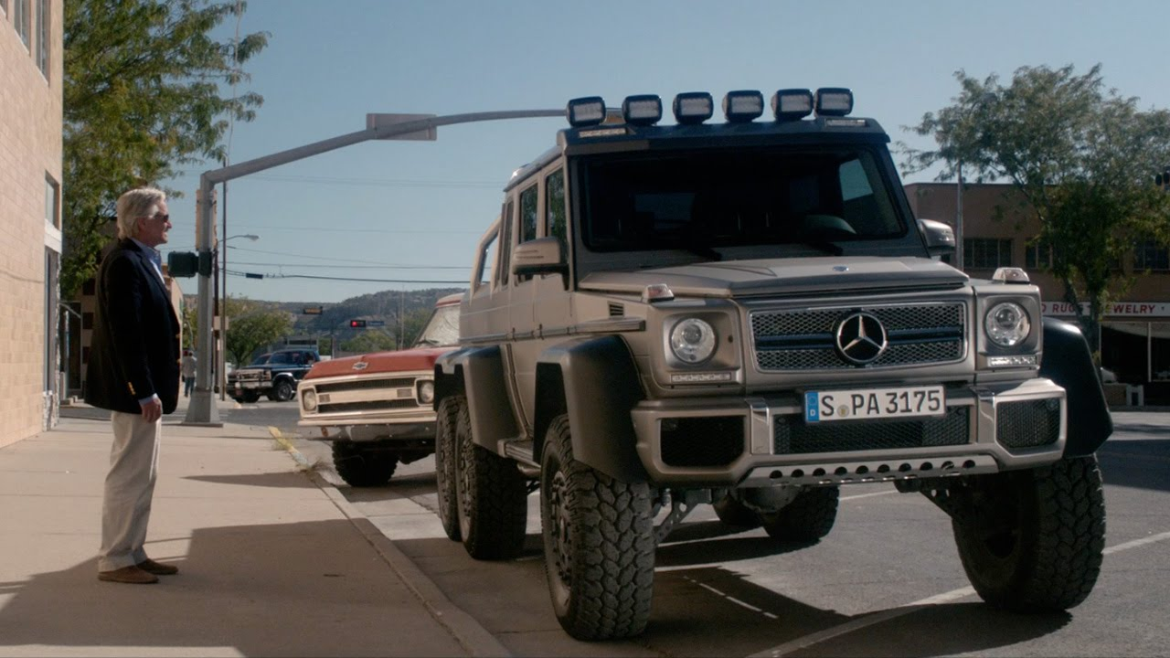 Beyond The Reach Movie Shows Off The Mercedes Benz G63 Amg