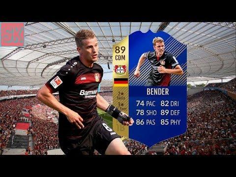 FIFA 18 | (89) TOTS Lars Bender Player Review