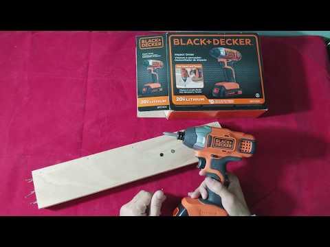 Review: BLACK+DECKER BDCI20C 20V MAX Lithium Impact Driver