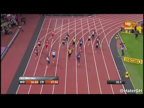 Relay 4x100 Finals IAAF World Championships London 2017 | Full Race