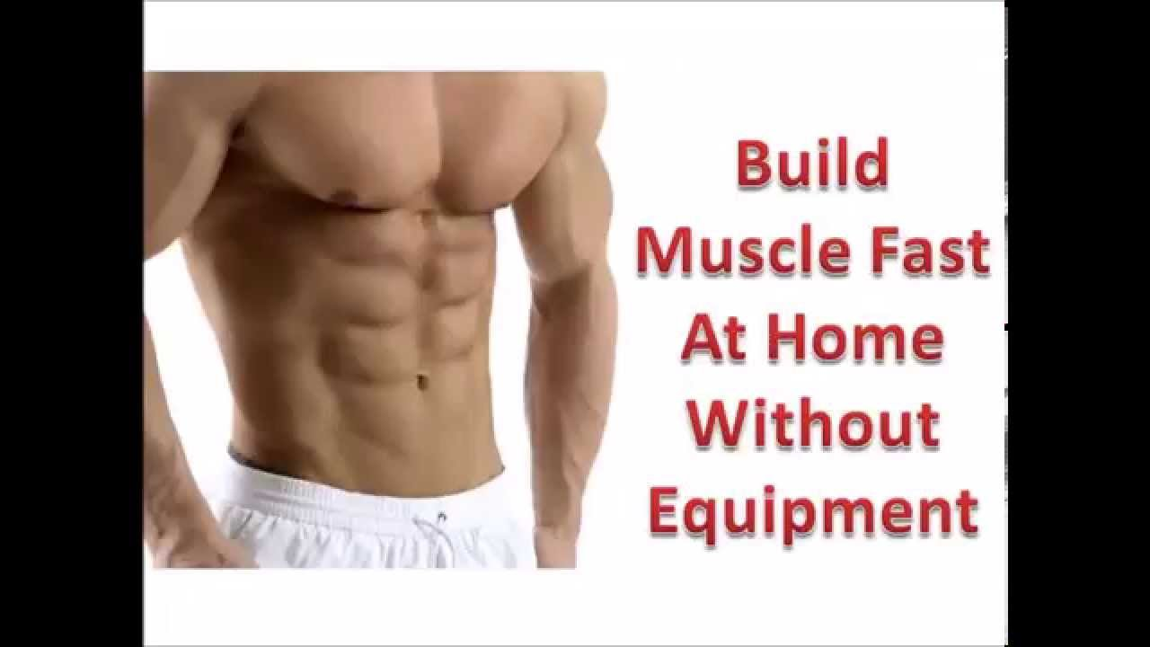 How to gain chest muscles at home