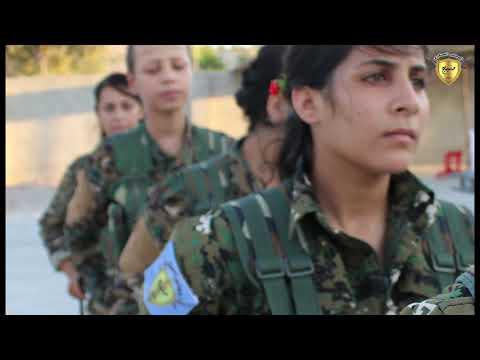 بمناسبة عيد المرأة العالمي آراء المقاتلات في مجلس منبج العسكري 5/3/2019