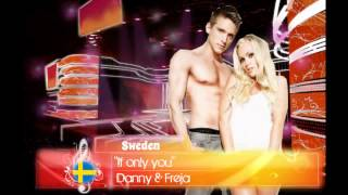 EMS 8 - SWEDEN - Danny & Freja - If only you YouTube Videos