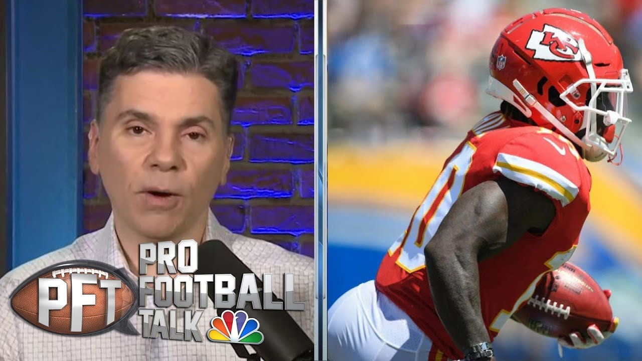Tyreek Hill to appear at workouts with Kansas City future unclear | Pro Football Talk | NBC Sports
