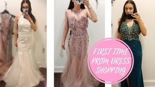 PROM DRESS SHOPPING 2018...I GOT KICKED OUT FOR VLOGING | ANNDAWG