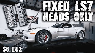C6 Z06 LS7 Fixed Heads... How Much Power Does it Gain?  | RPM S6 E42