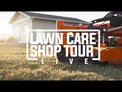 LAWNCARE SHOP TOUR | OUR MOWERS, EQUIPMENT & Q & A |