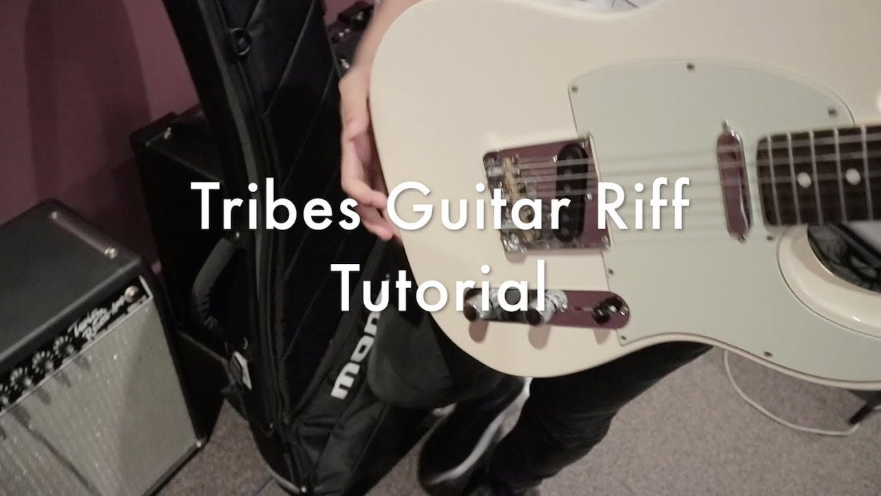 tribes electric guitar riff tutorial victory worship youtube. Black Bedroom Furniture Sets. Home Design Ideas