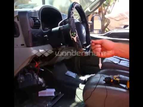 F250 upfitter switches how to install - YouTube