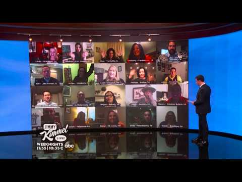 Cisco Goes Hollywood on Jimmy Kimmel's Wall of America