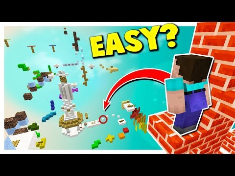 TWO NOOBS vs EASIEST PARKOUR MAP?...