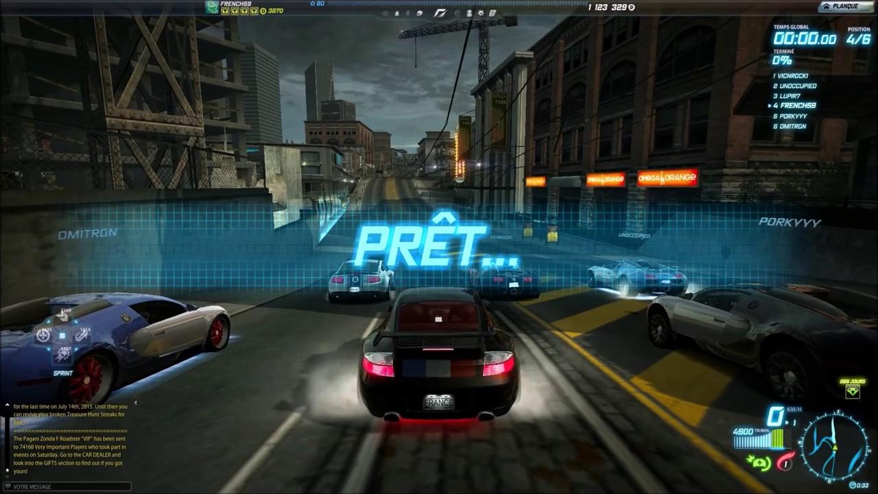 Need for speed world porsche 911 gt2 class a