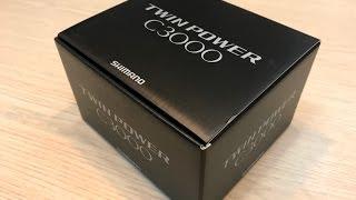 Unpacking (розпакування) Shimano Twin Power'15 C3000. Купівля на InJapan. EMS доставка.