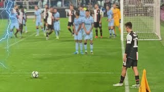 Rare Free Kick Goals in Football