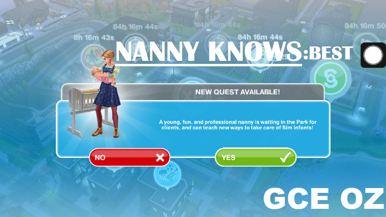 baby steps nanny knows best quest the sims play baby steps nanny knows best quest the sims play