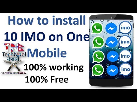 How To Download And Install IMO On Android Mobile Device| Tech Np | How To Clone Apps | Smart Phone|