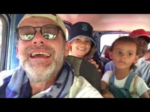 BABA JAH P  GO TO MADAGASCAR   MORONDAVA   épisode 6   en route vers les baobabs