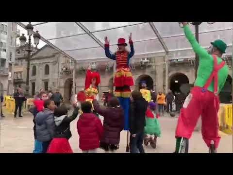 'Le Petit Circ' anima el Martes de Entroido