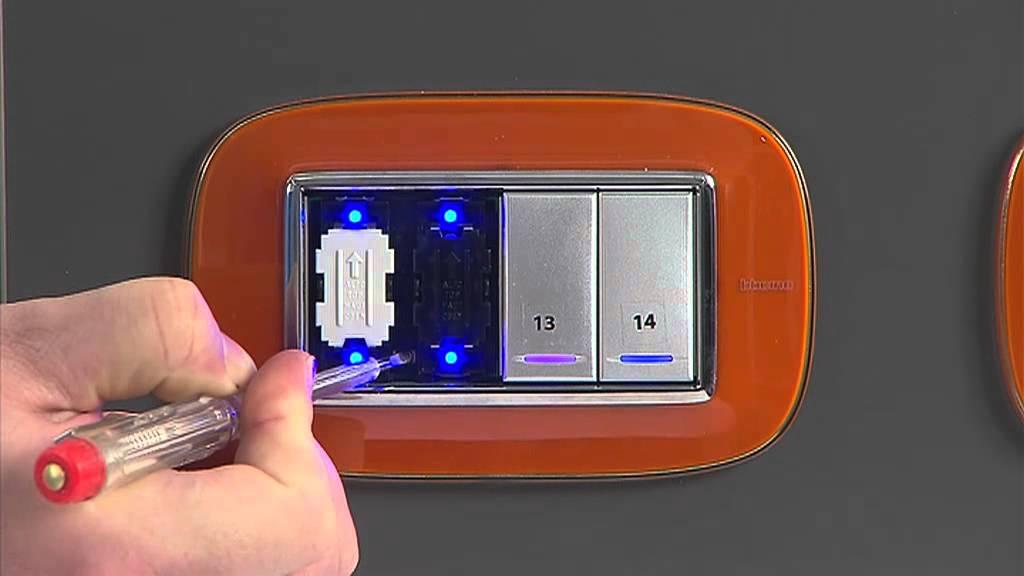 Schema Elettrico Dimmer Per Led : Bticino pillole formative regolazione luminosità led su comandi