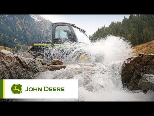 Pojazdy użytkowe John Deere - Zamykana kabina