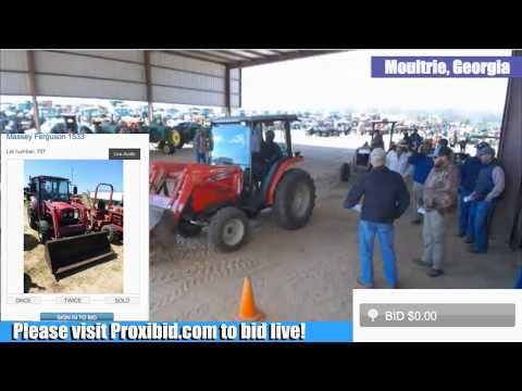 Weeks Farm Machinery Auction Live Stream