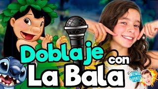FANDUB (Doblaje Lilo y Stitch) con La Bala / Memo Aponte