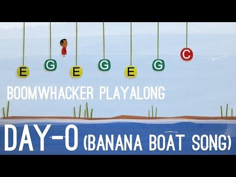 DayO The Banana Boat Song  Boomwhackers