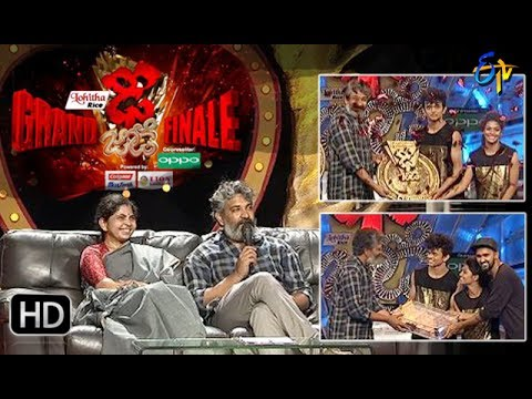 Dhee Jodi | 21st June 2017 | Grand Finale | Full Episode | ETV Telugu