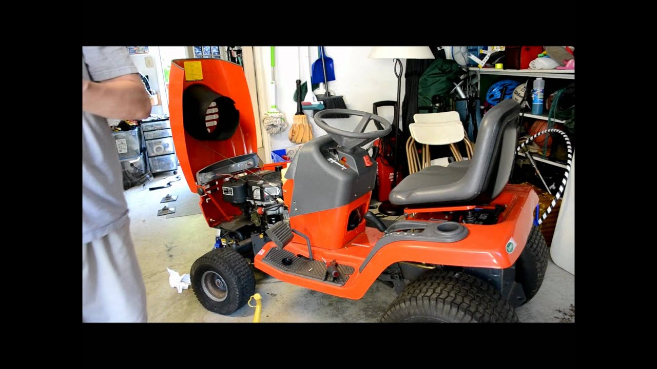 Restoring A Scotts Riding Lawn Mower Part 3