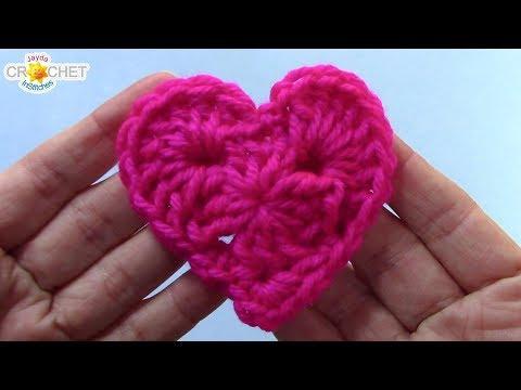 Granny Style Heart – Crochet Quick Fix