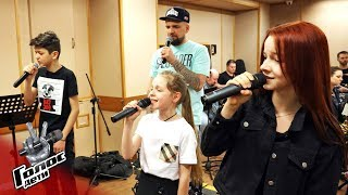 Заключительный аккорд: как великолепная девятка репетирует перед финалом - Голос.Дети - Сезон 5
