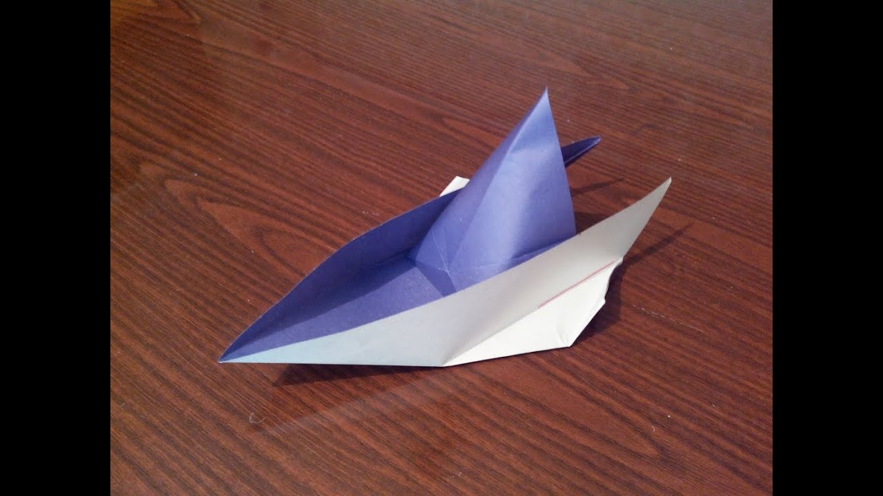 how to make an origami boat youtube