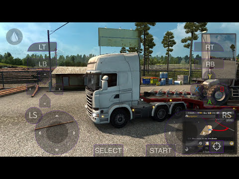 download game euro truck simulator android mod apk