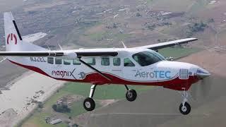 상업용 전기 항공기 MagniX 세스나 208B e캐러…