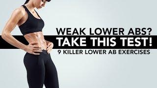 Schwachen Unteren Bauchmuskeln? | Absolvieren | 9 Killer-Unteren Ab Übungen!
