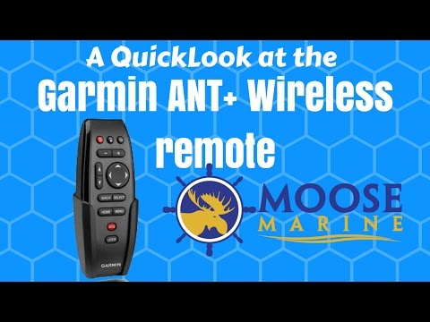 Garmin marine Remote QuickLook with Moose @ Regal Marine